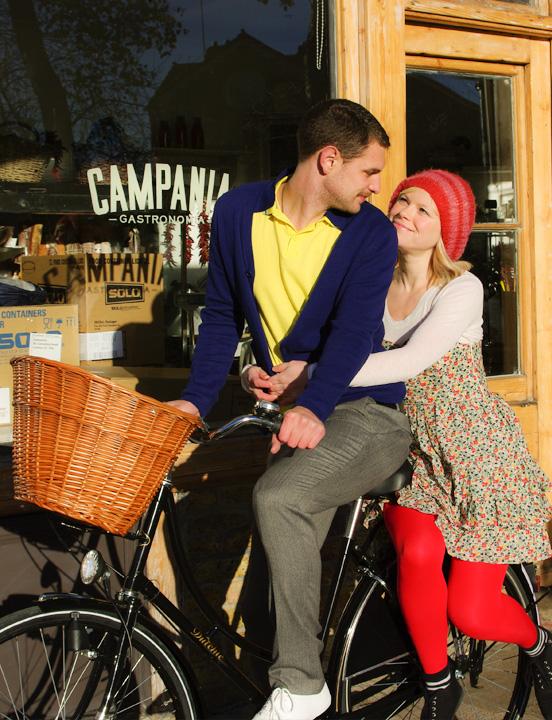 Classic vintage style Dutch bikes