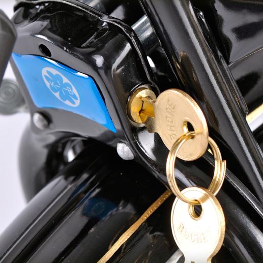 Integrated Lock